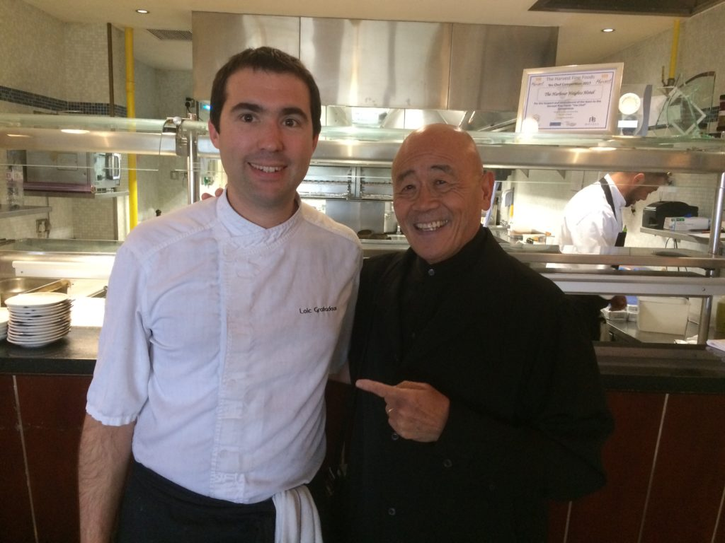 Image - Loic with Ken Hom